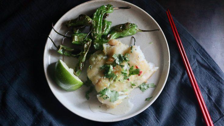 アジア風魚のグリル
